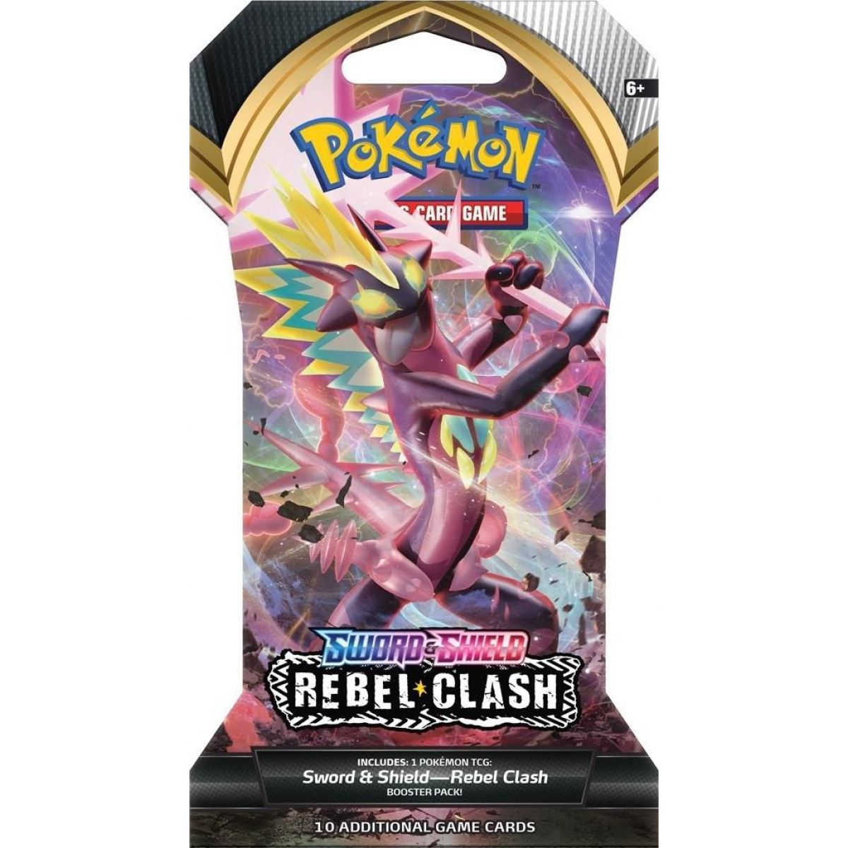 Pokémon TCG  SWSH02 Rebel Clash 1 Blister Booster č.1