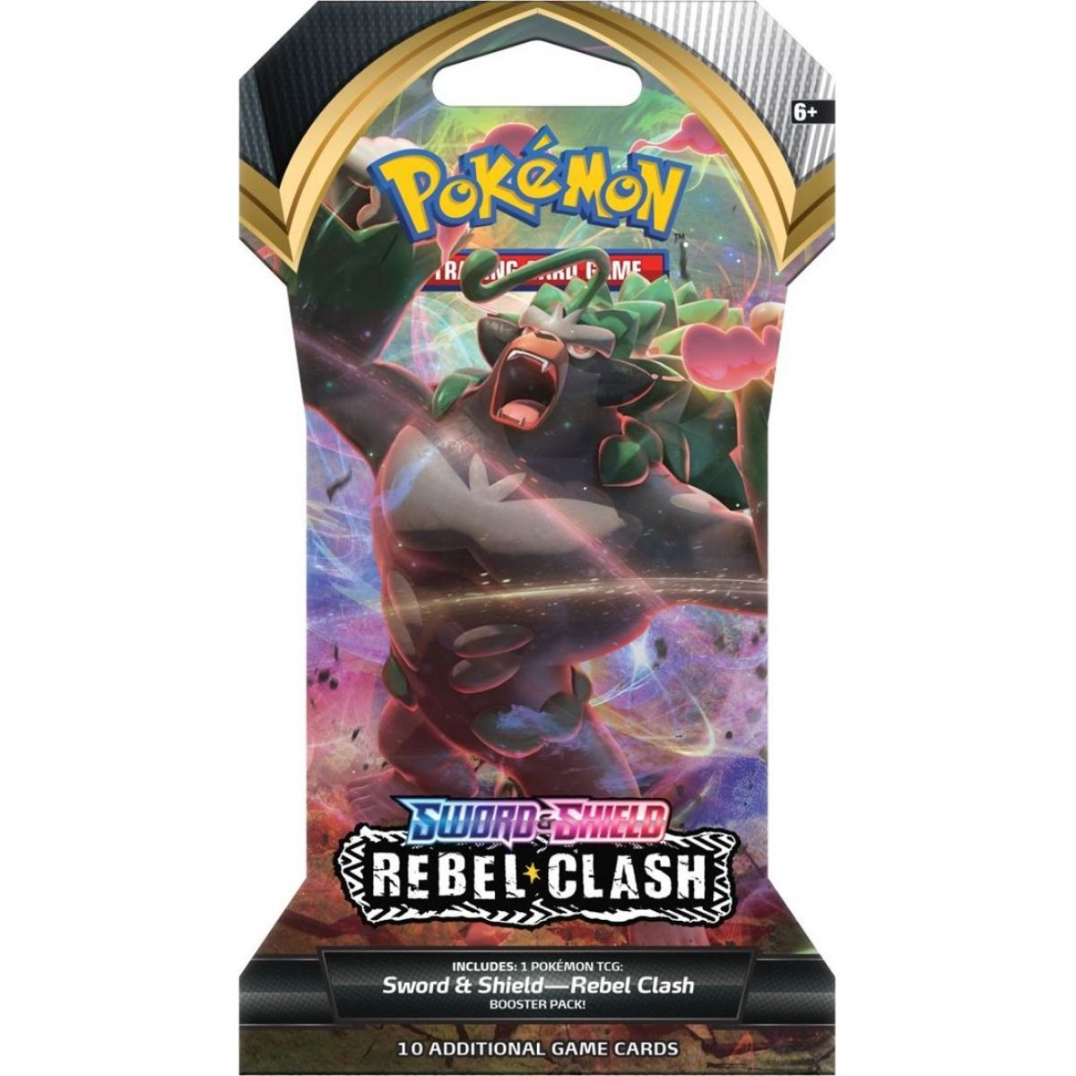 Pokémon TCG  SWSH02 Rebel Clash 1 Blister Booster č.2