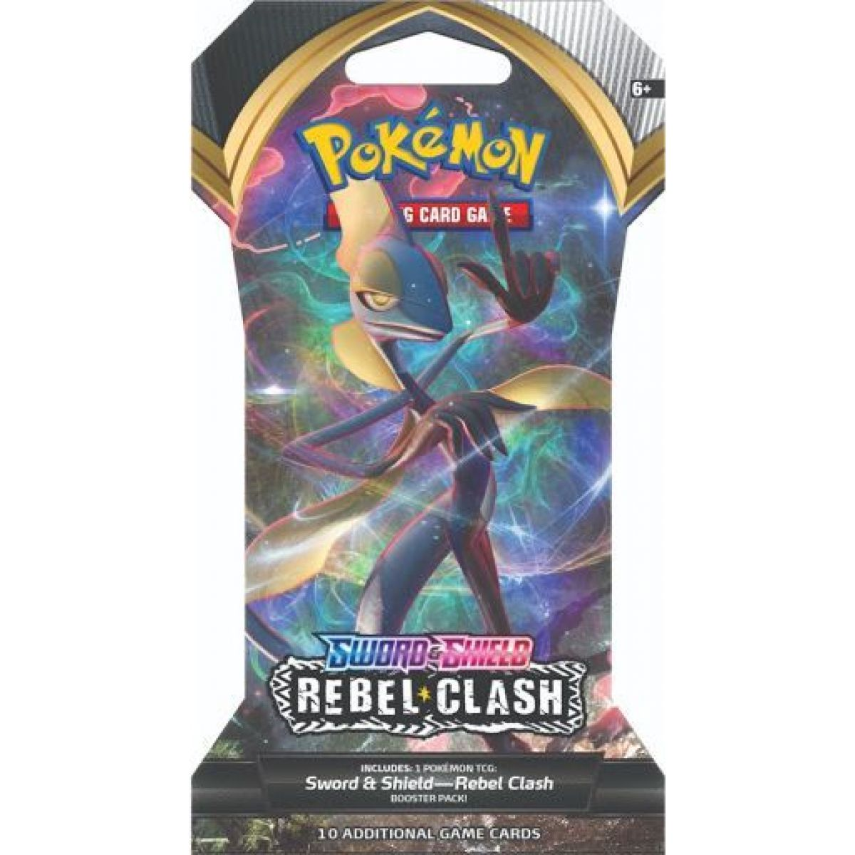 Pokémon TCG  SWSH02 Rebel Clash 1 Blister Booster č.3