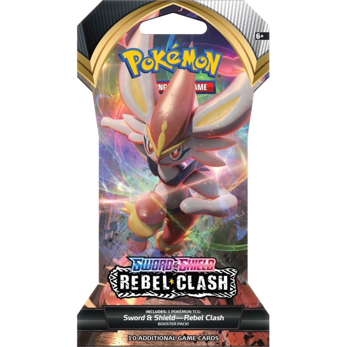 Pokémon TCG  SWSH02 Rebel Clash 1 Blister Booster č.4
