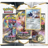 Pokémon TCG  SWSH02 Rebel Clash 3 Blister Booster