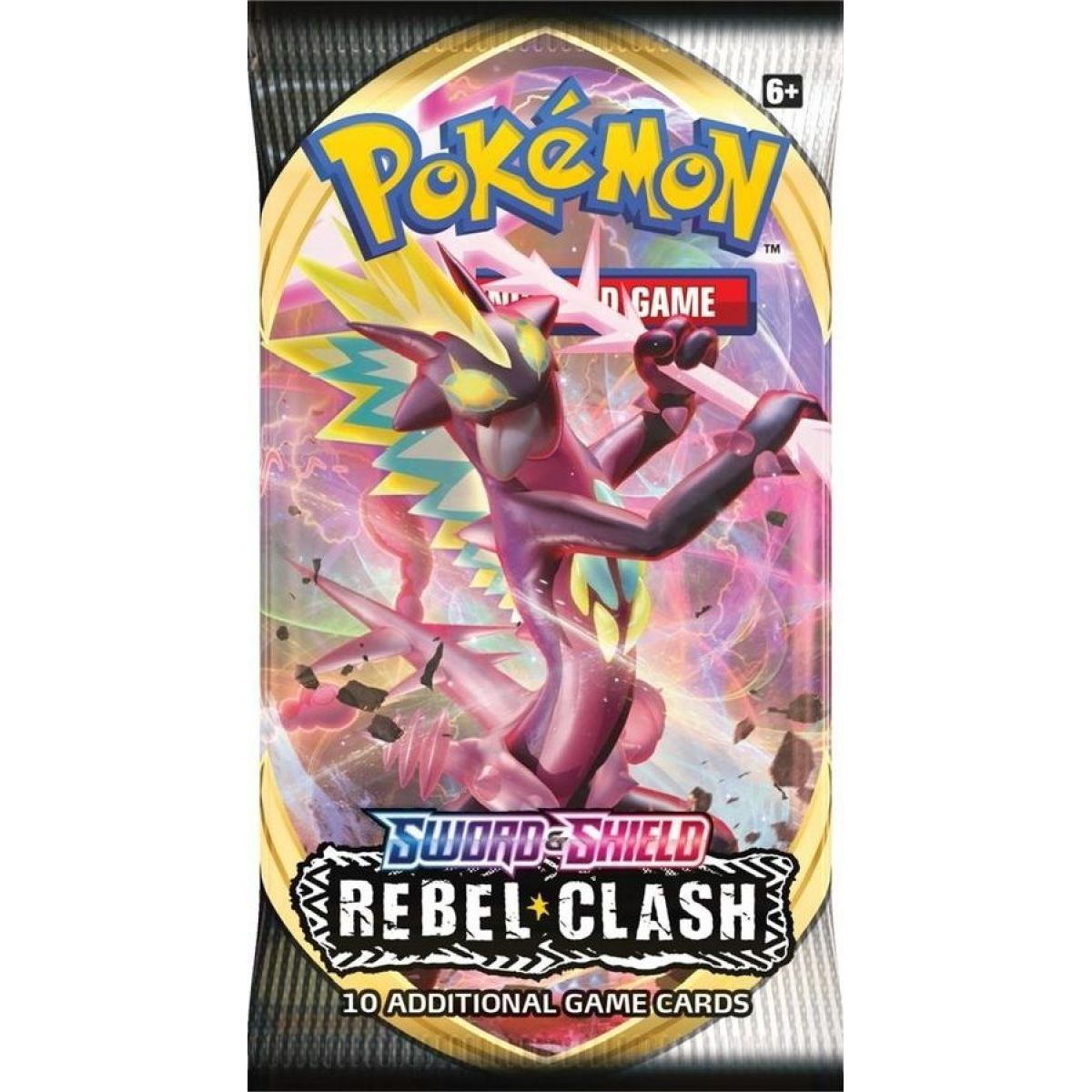 Pokémon TCG  SWSH02 Rebel Clash Booster č.1