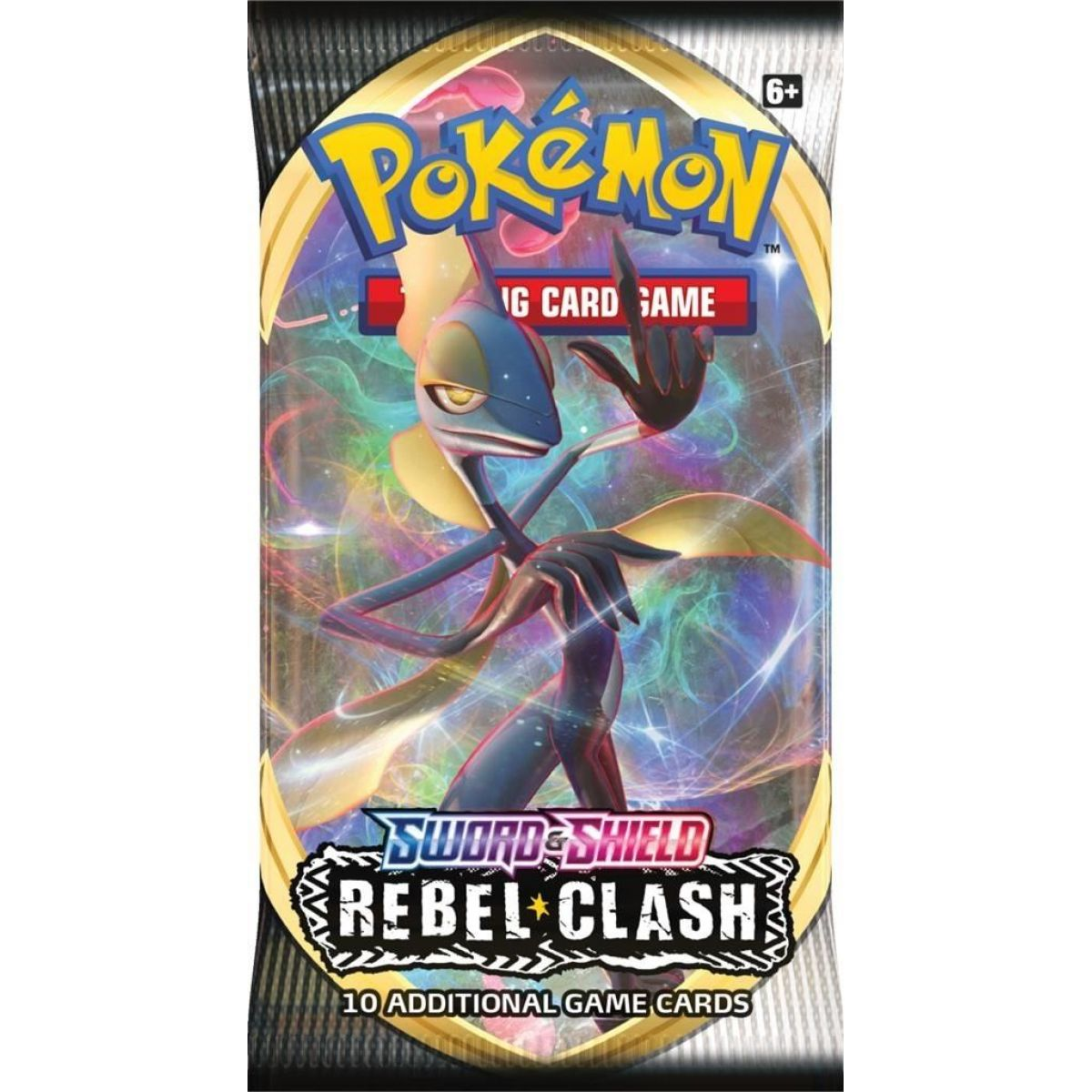 Pokémon TCG  SWSH02 Rebel Clash Booster č.2