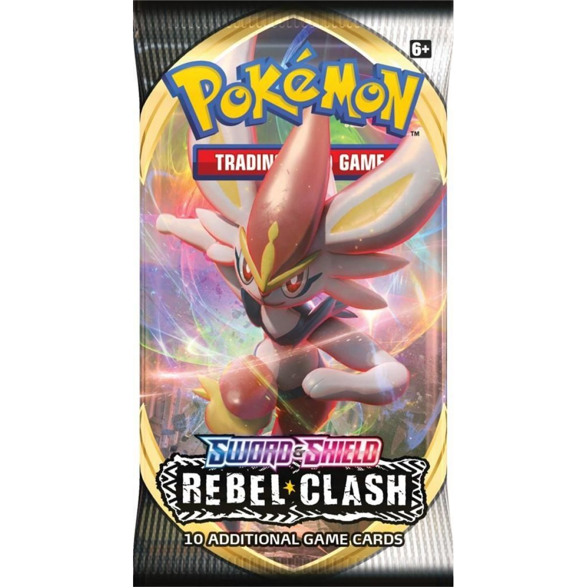 Pokémon TCG  SWSH02 Rebel Clash Booster č.3