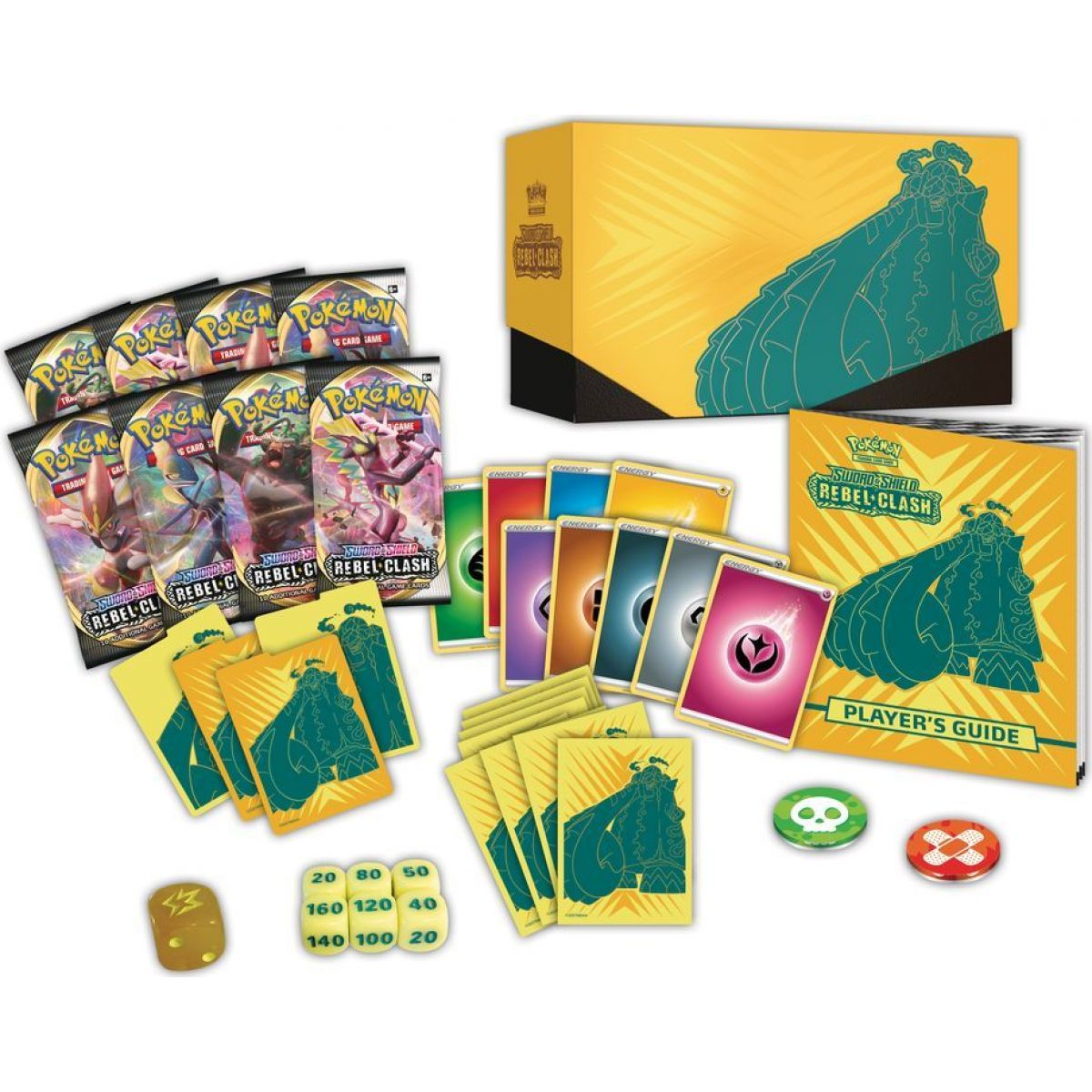Pokémon TCG  SWSH02 Rebel Clash Elite Trainer Box