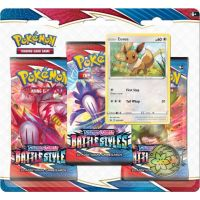 Pokémon TCG: SWSH05 Battle Styles - 3 Blister Booster č.2