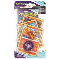 Pokémon TCG: SWSH06 Chilling Reign - Premium Checklane Blister oranžový