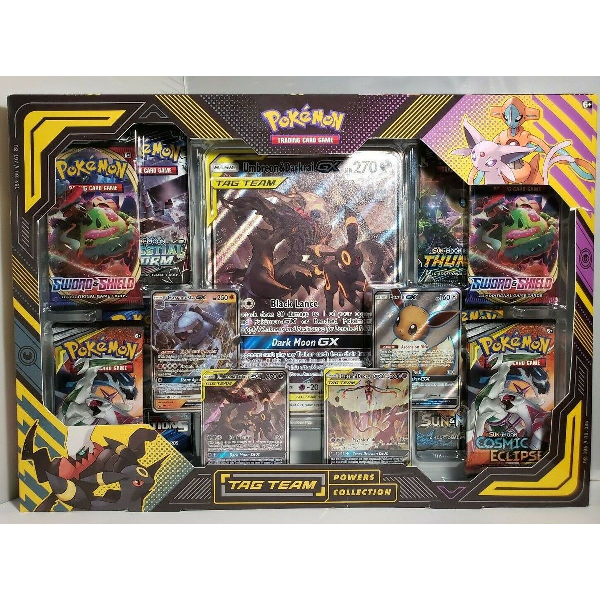 Pokémon TCG  TAG TEAM Powers Collection Black Lance