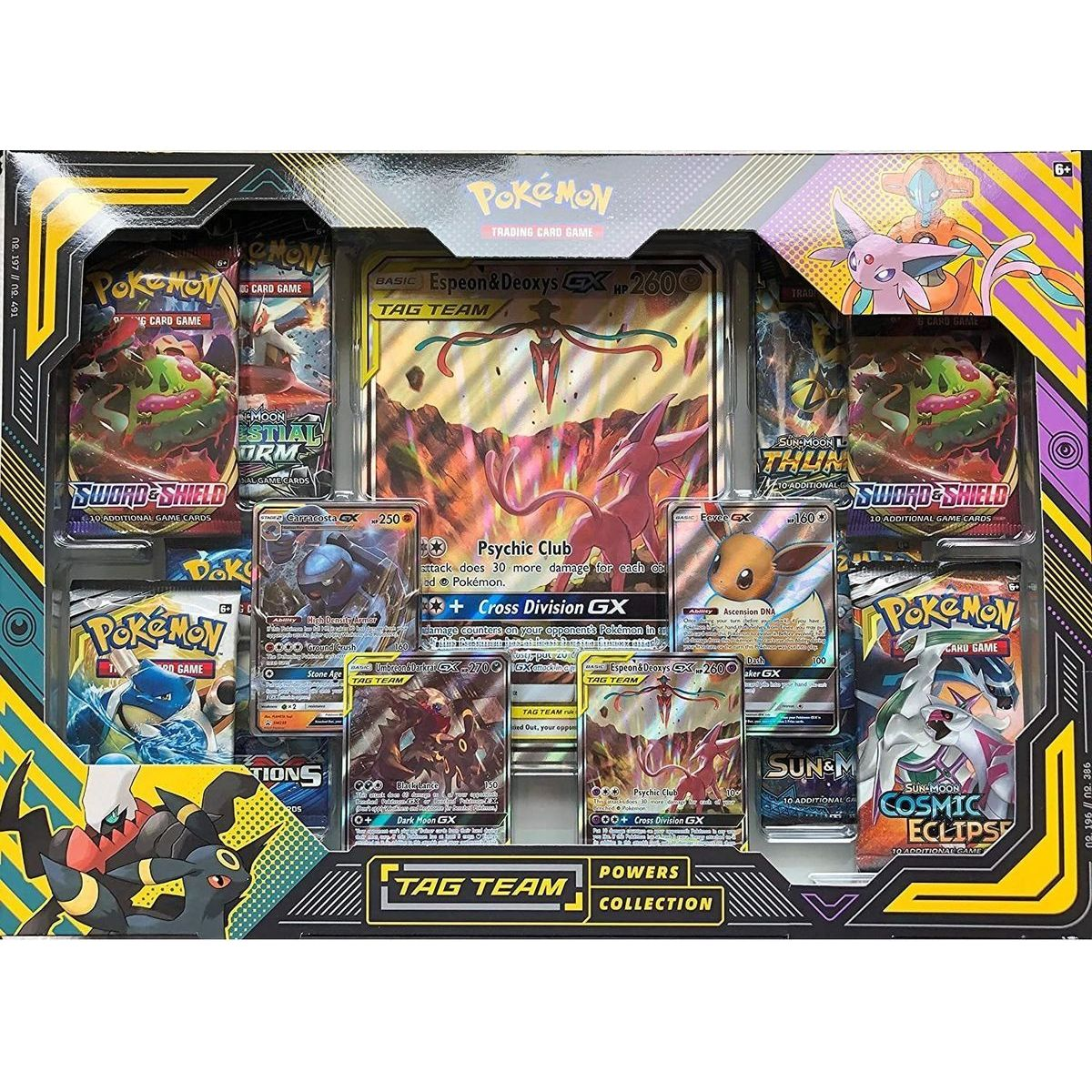 Pokémon TCG  TAG TEAM Powers Collection Psychic Club