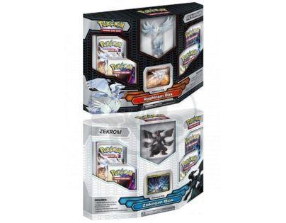 Pokémon BW2 Reshiram Zekrom Figure Box