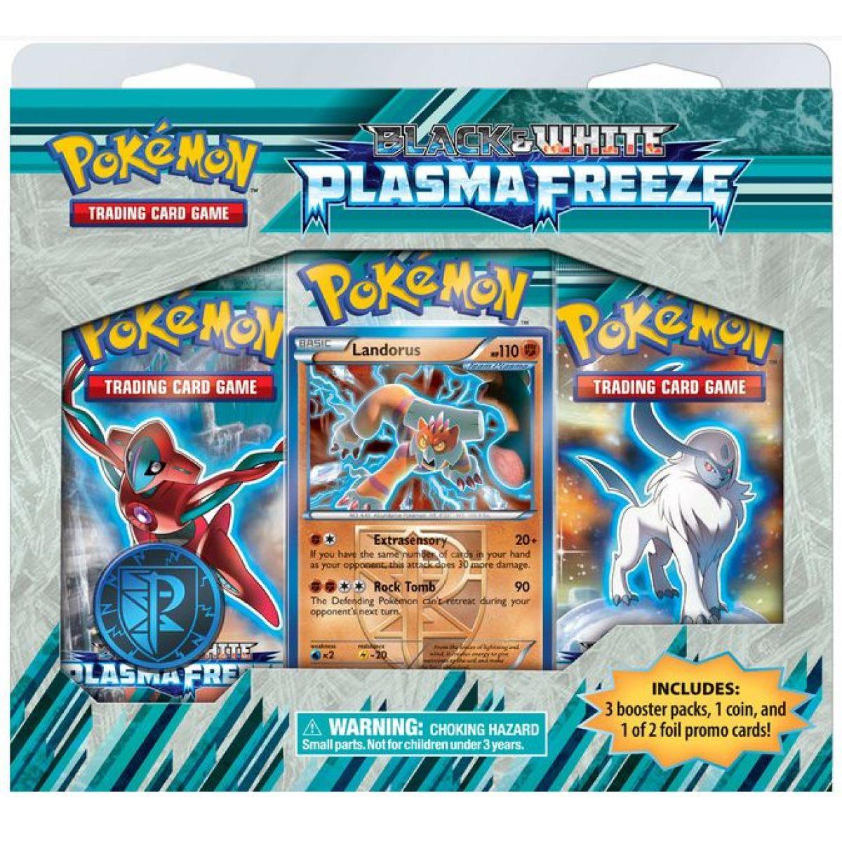 Pokémon: BW9 Plasma Freeze - 3 Pack Blister