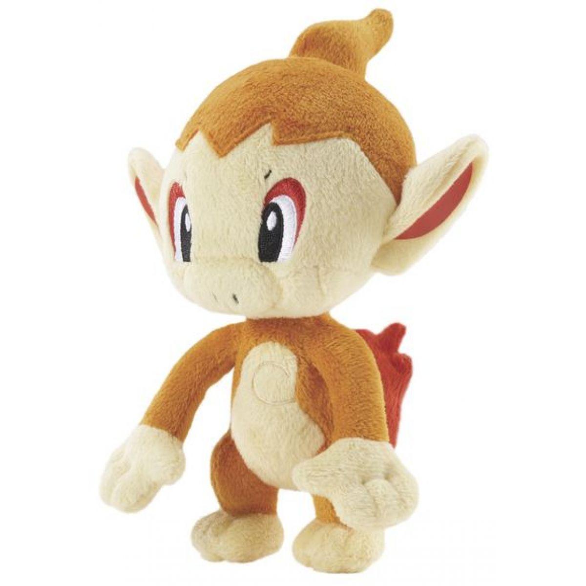 Bandai BD86215C - Pokémon: Plyšová postavička - Chimchar