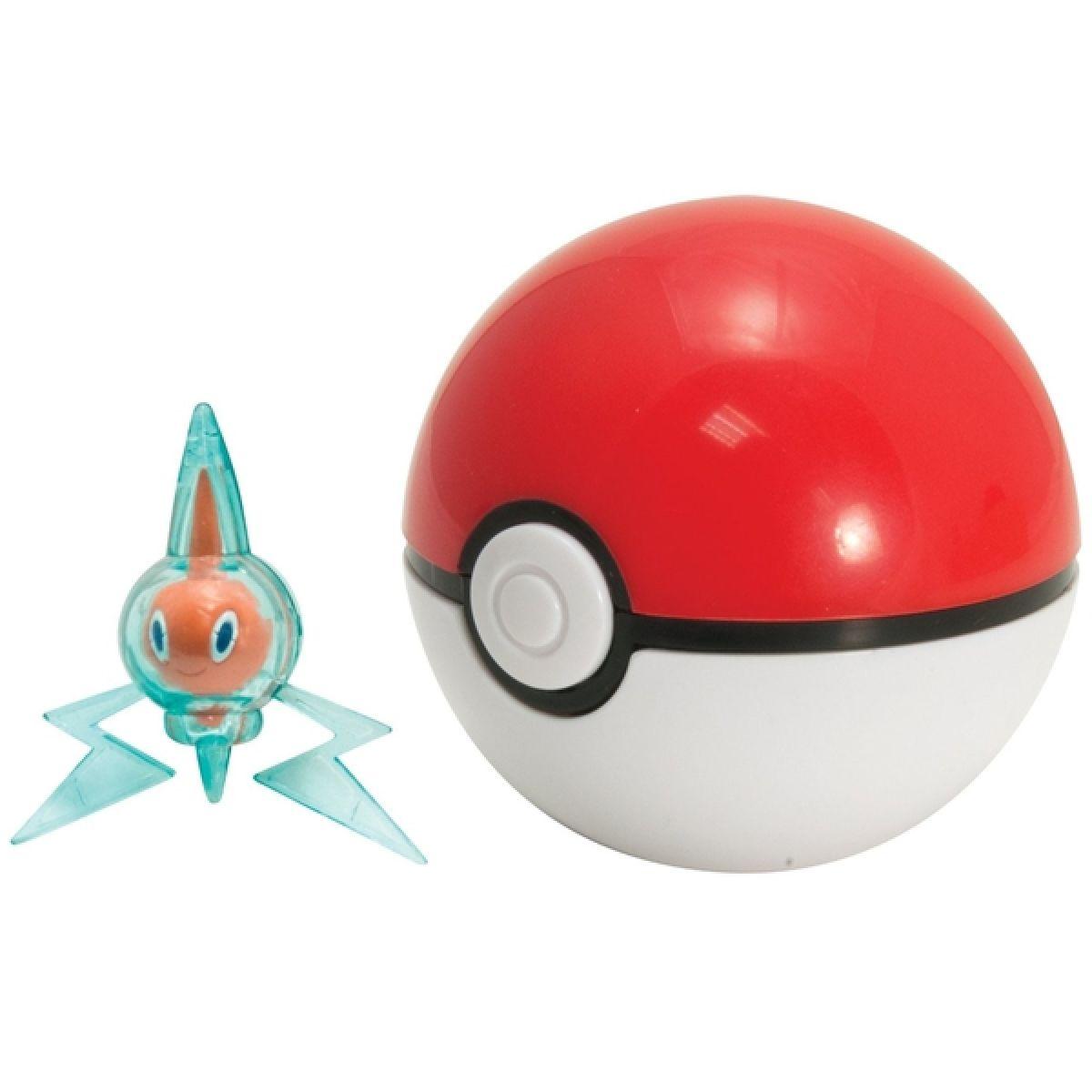 Pokémon Pokéball s figurkou - Rotom