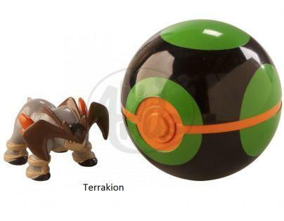 Pokémon Pokéball s figurkou - Terrakion