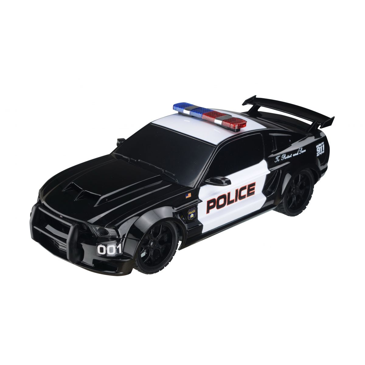 EP Line Policejní RC auto Ford Mustang 1:18 EPLINE