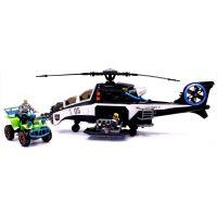 Policejní sada s vrtulníkem
