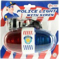 Policejní světlo na kolo 13 cm 6