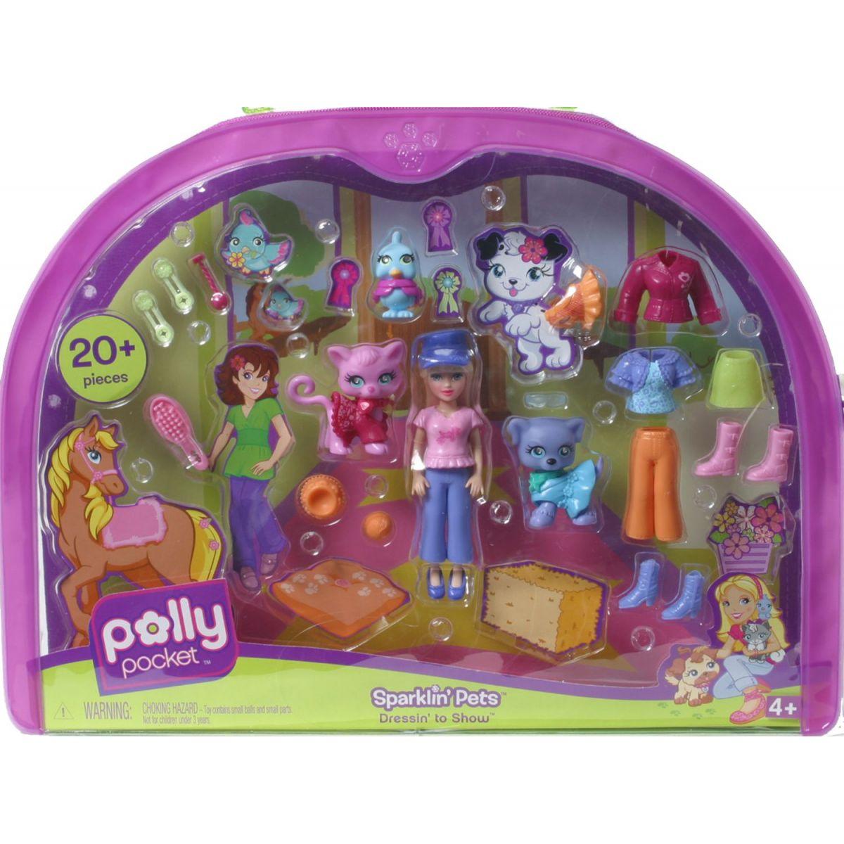 Polly Pocket a třpytivá zvířátka