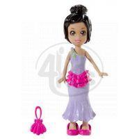 MATTEL Polly Pocket - Základní panenka černá- muffin a kabelka K7704_Y6432 3