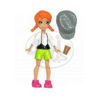 MATTEL Polly Pocket - Základní panenka černá- muffin a kabelka K7704_Y6432 4