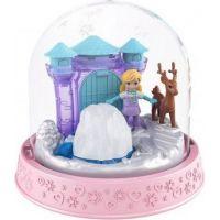 Polly Pocket sněhová koule světle růžová