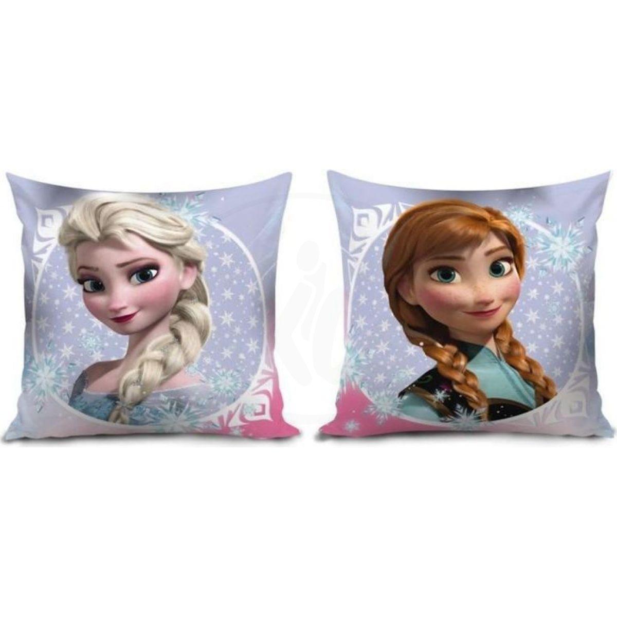 Lamps Polštář Frozen Anna a Elsa 35x35