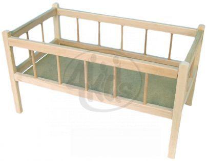Teddies 31000152 - Postýlka dřevěná