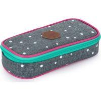 Karton P+P Pouzdro Etue komfort Oxy Scooler Grey dots