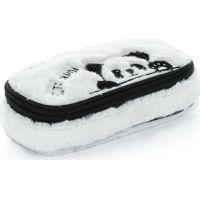 Karton P+P Pouzdro Etue komfort plyšový efekt Panda