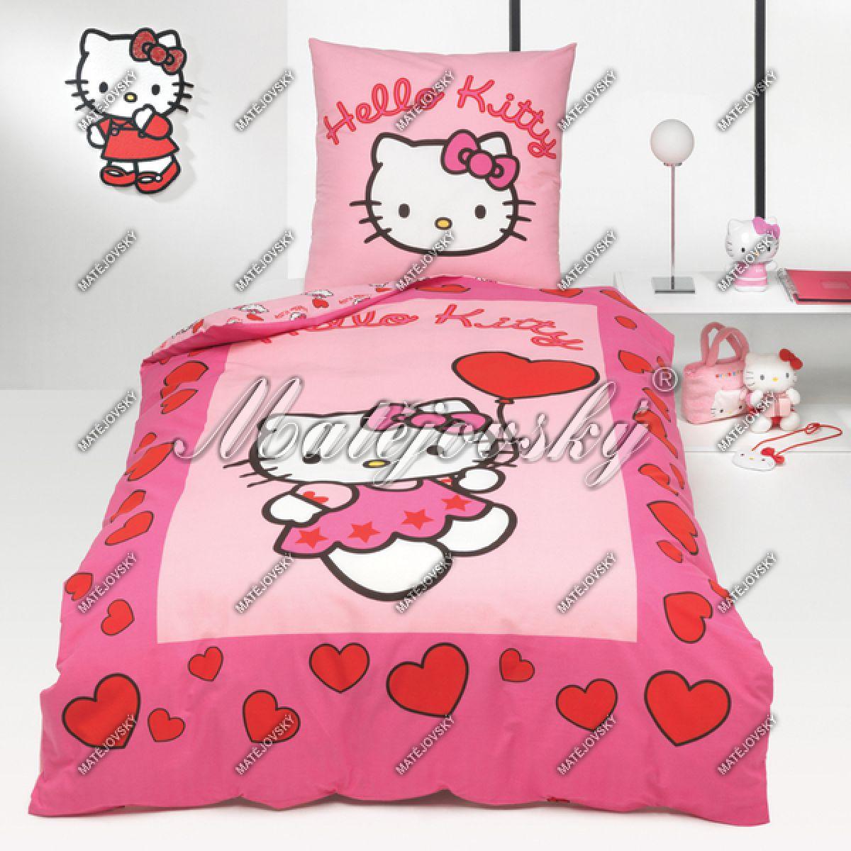 Povlečení Bavlna Hello Kitty