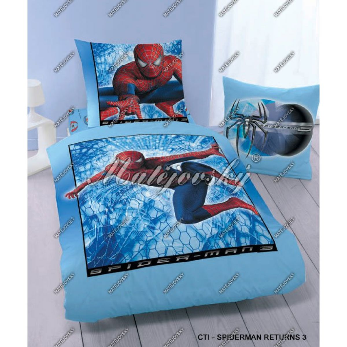 Povlečení Spiderman návrat 3