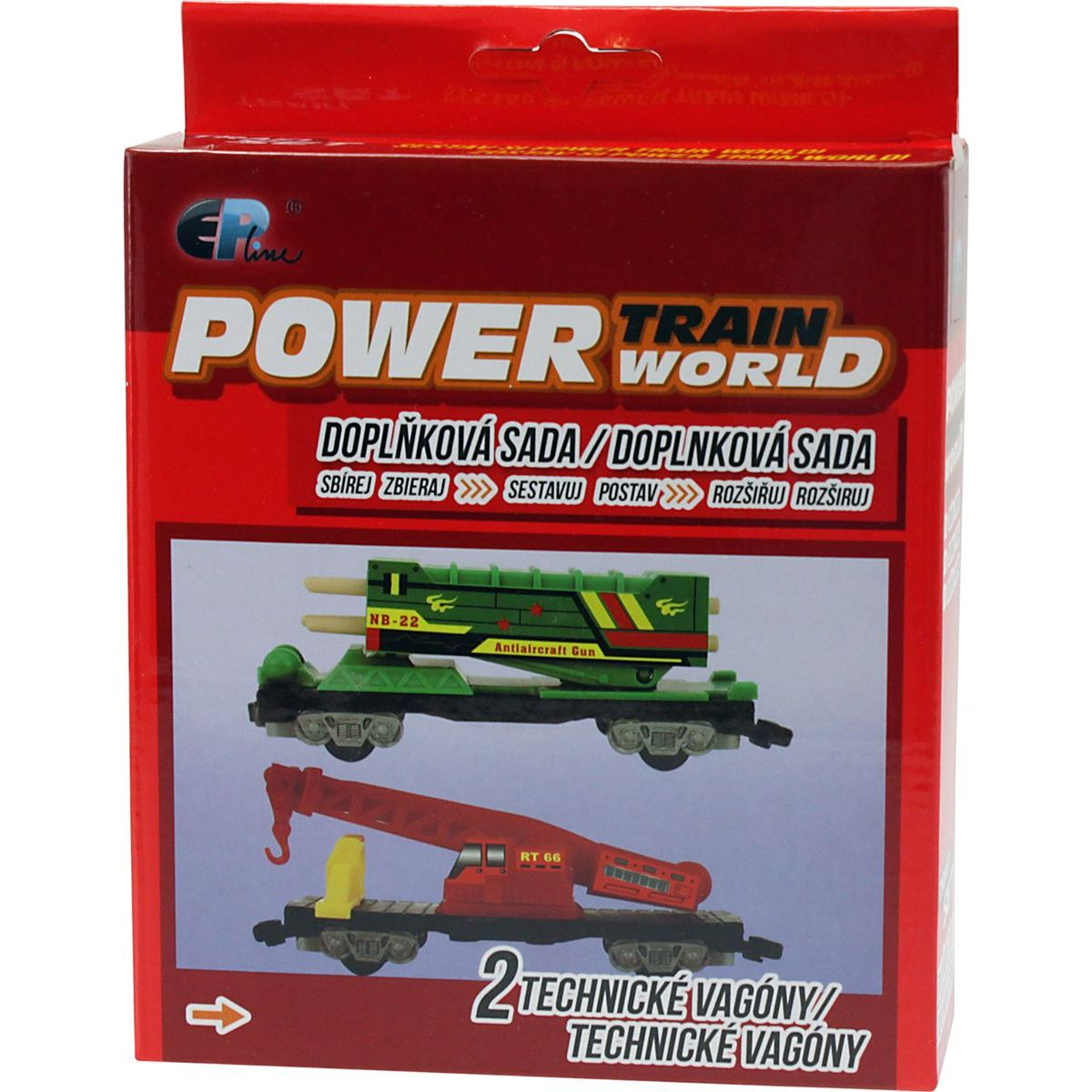 Power Train World Technické vagóny