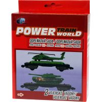 Power Train World Vojenské vagóny