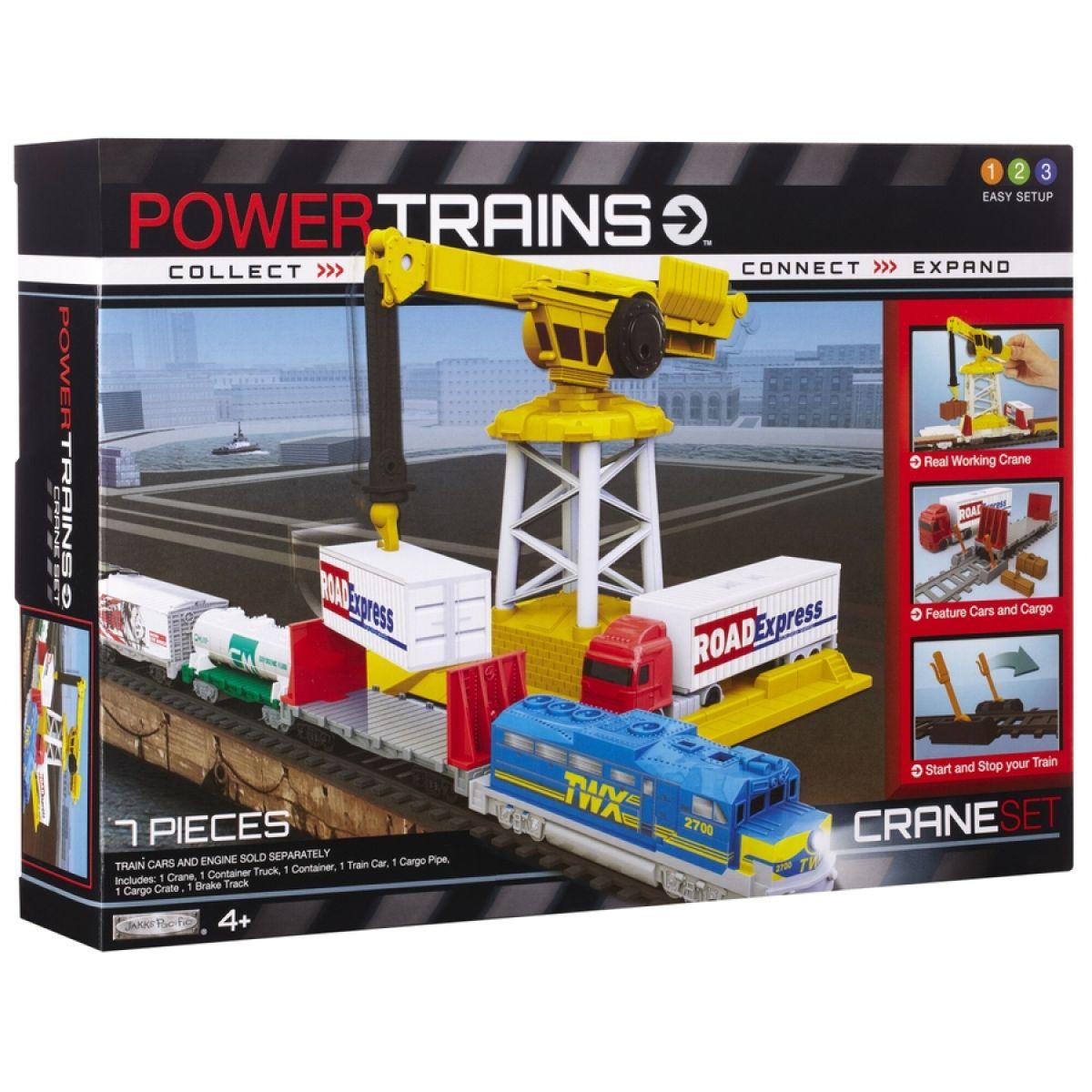 Power Trains Rozšiřující sada - Sada jeřáb