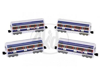 Power Trains Vagóny 4ks - metro