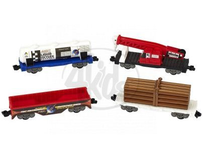 Power Trains Vagóny 4ks - nákladní