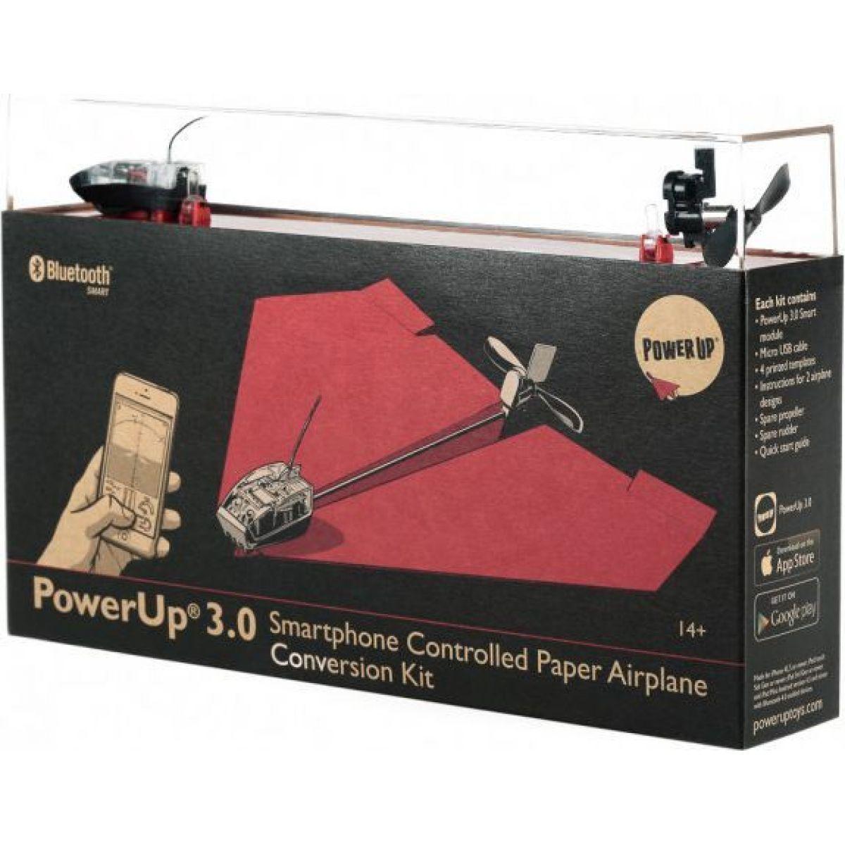 Smart drone PowerUp 3.0 chytrá papírová vlaštovka - PU-500-004