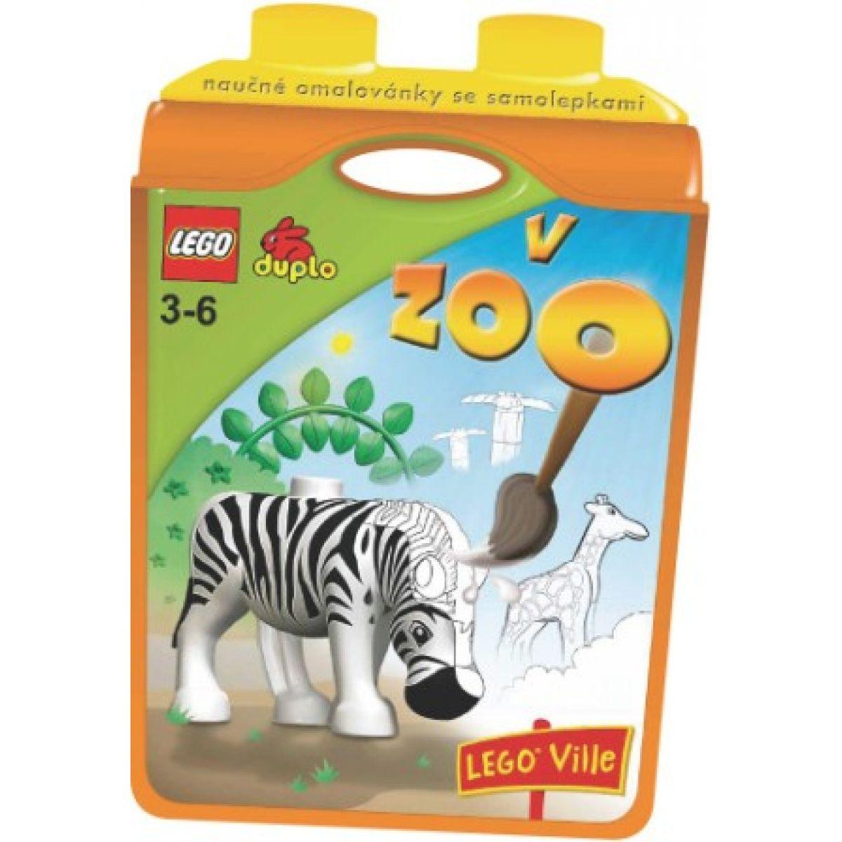 JIRI MODELS 0101391 LEGO DUPLO V ZOO pracovní sešit