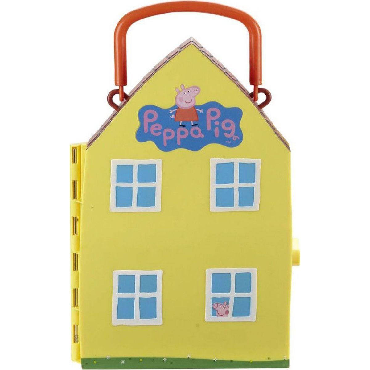 TM Toys Prasátko Peppa domeček s figurkou a příslušenstvím TM TOYS