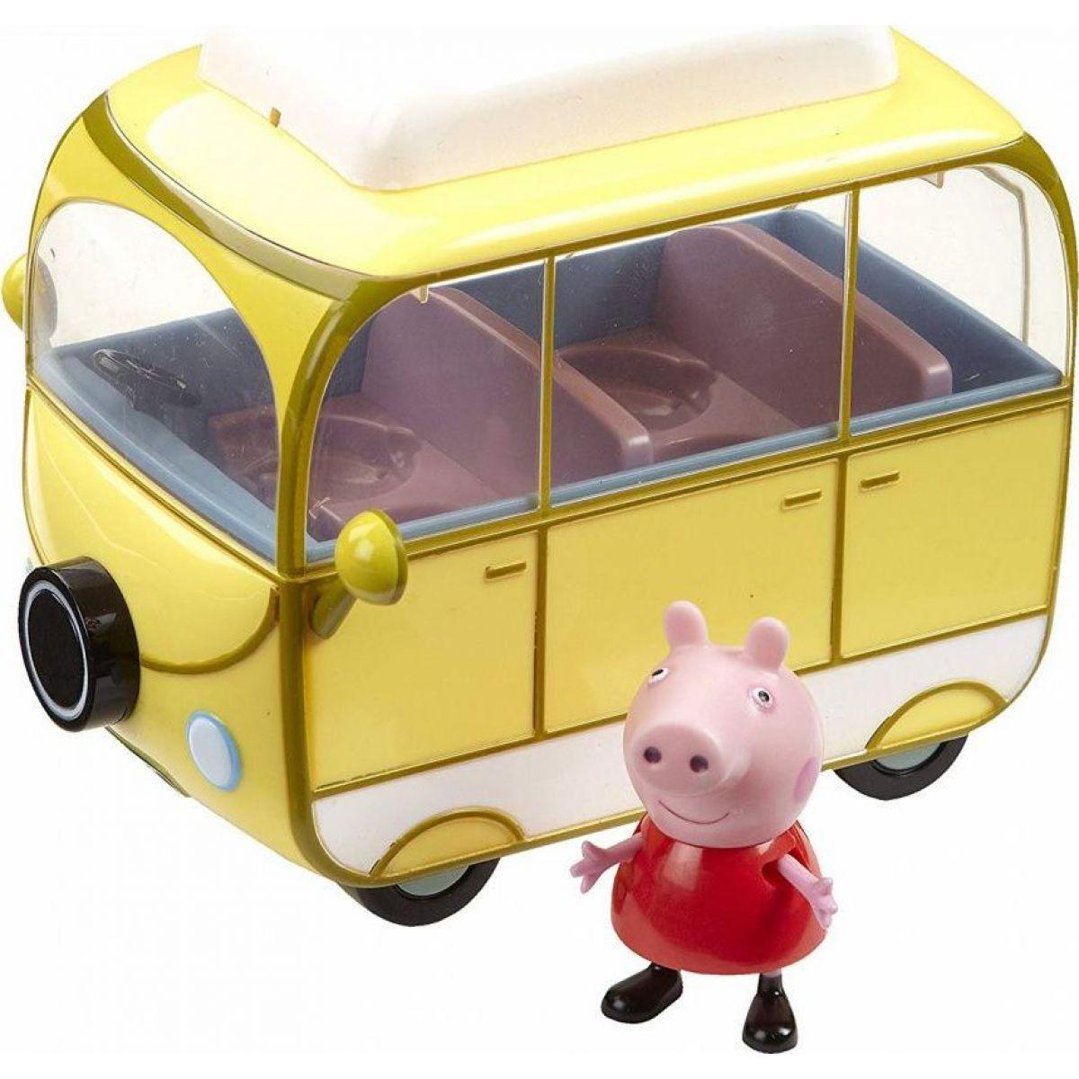Prasátko Peppa karavan kempingový vůz TM TOYS