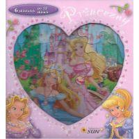 Sun Princezny skládačková knížka srdce
