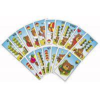Prší jednohlavé karty pro děti