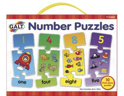 Galt Puzzle Moje první anglické číslice 2