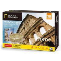 CubicFun Puzzle 3D National Geographic Colosseum 131 dílků