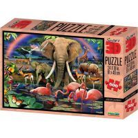 Prime 3D Puzzle 3D Safari 500 dílků