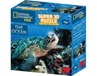 Prime 3D Puzzle 3D želva 100 dílků