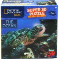 Prime 3D Puzzle 3D želva 100 dílků 2