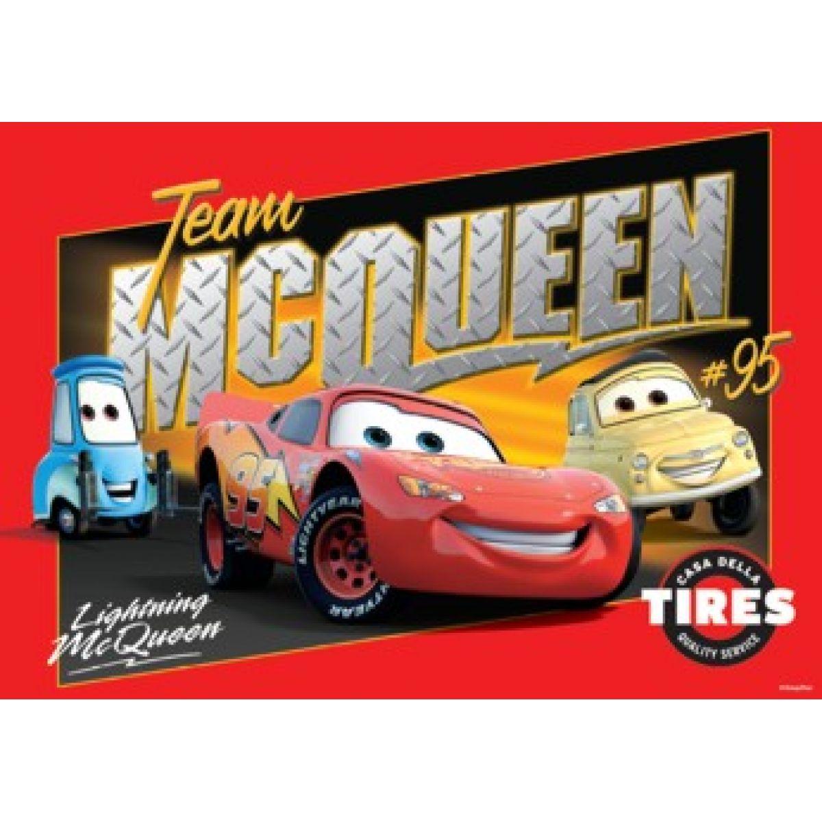 DINO 343092 - Cars - McQueen Team (100 dílků)