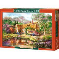 Puzzle Castorland 3000 dielikov - Chaloupka maľované 2
