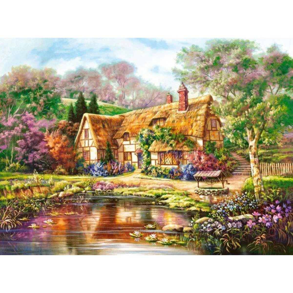 Puzzle Castorland 3000 dielikov - Chaloupka maľované